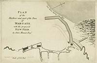 Plan of New Pier Rennie 1809]  | Margate History