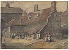 Spellers Court,off Love Lane [Watercolour, George Shepherd June 30 1817]  | Margate History