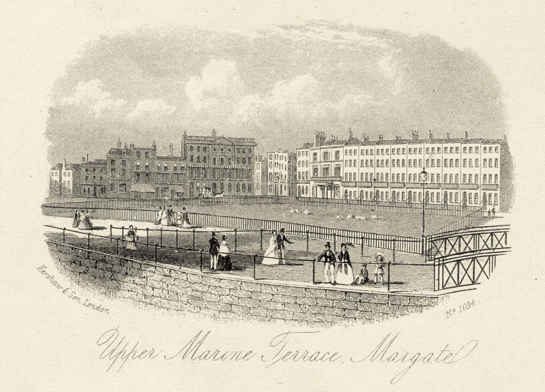 Marine Terrace Margate 1873   Margate History